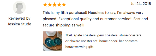 etsy review, comment 2